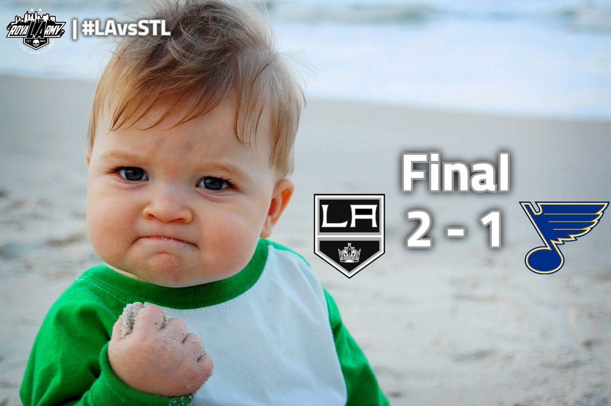 The @LAKings are good. Pass it along.  #GoKingsGo