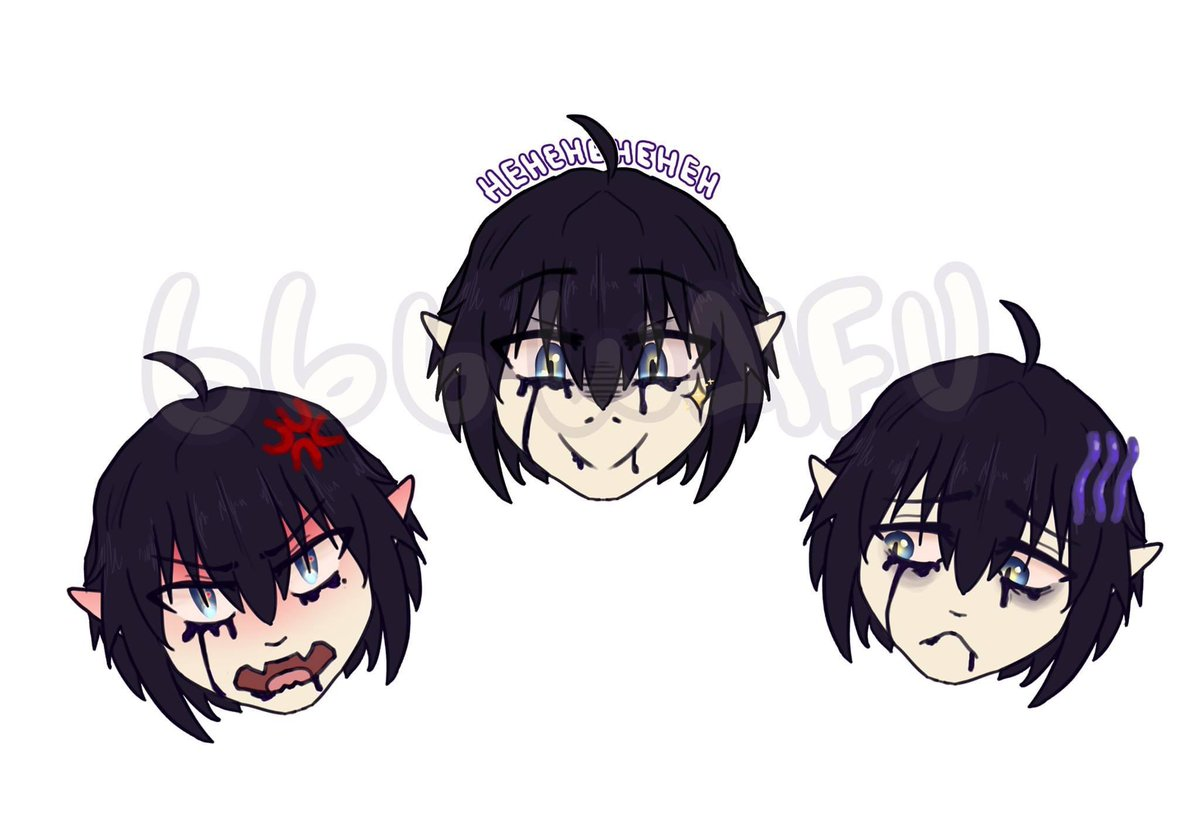Twitch Emote commission for twitch.tv/sn8kebites !!!! #twitch #twitchstream #emote #art #digitalart #anime #animeart #commission #artist
