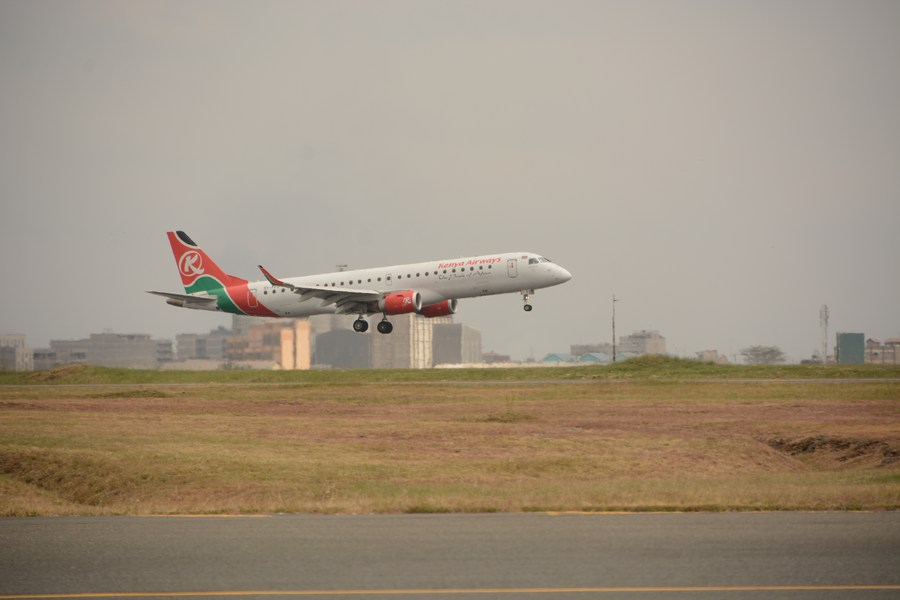 Civil Aviation AdministrationofChina issued a four-week suspension order on Kenya Airways's flight KQ882 (Nairobi-Guangzhou), effective from March 8, following a two-week suspension order implemented on Feb 22. 29 passengers on the flight previously tested positive for #COVID19