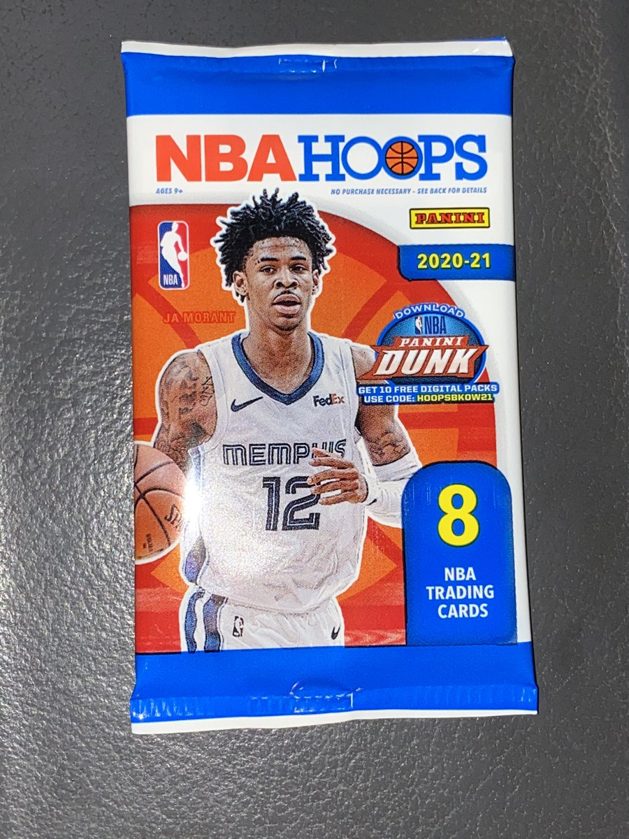 A little giveaway...  20-21 NBA Hoops Gravity Pack  I'll also throw in some PC cards for the winner 👌🏼  Just RT + Follow to enter!