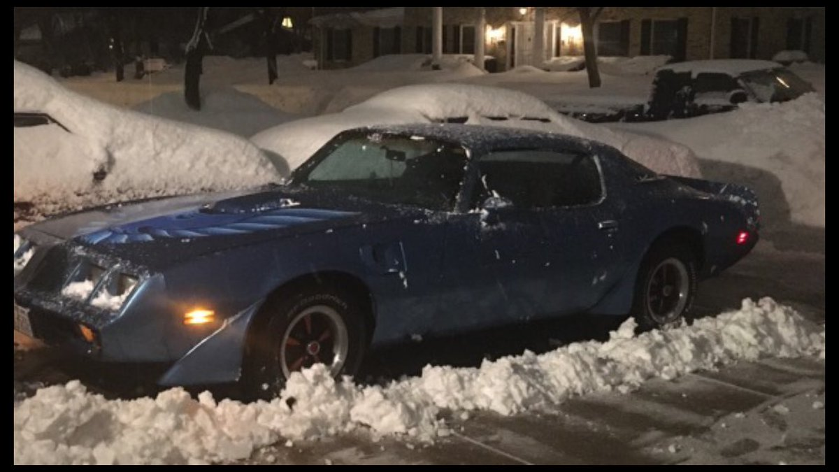 @taylorswift13 @Swifties_Blujay #Swifties #WeWereBothYoung #rain #lightning #LightningStrikes #snow #Thundersnow #Getawaycar #MuscleCar   Doesn't matter to me I'll drive this thing in any weather condition......