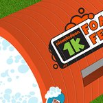 Image for the Tweet beginning: Nickelodeon hits a FOAM run!  From