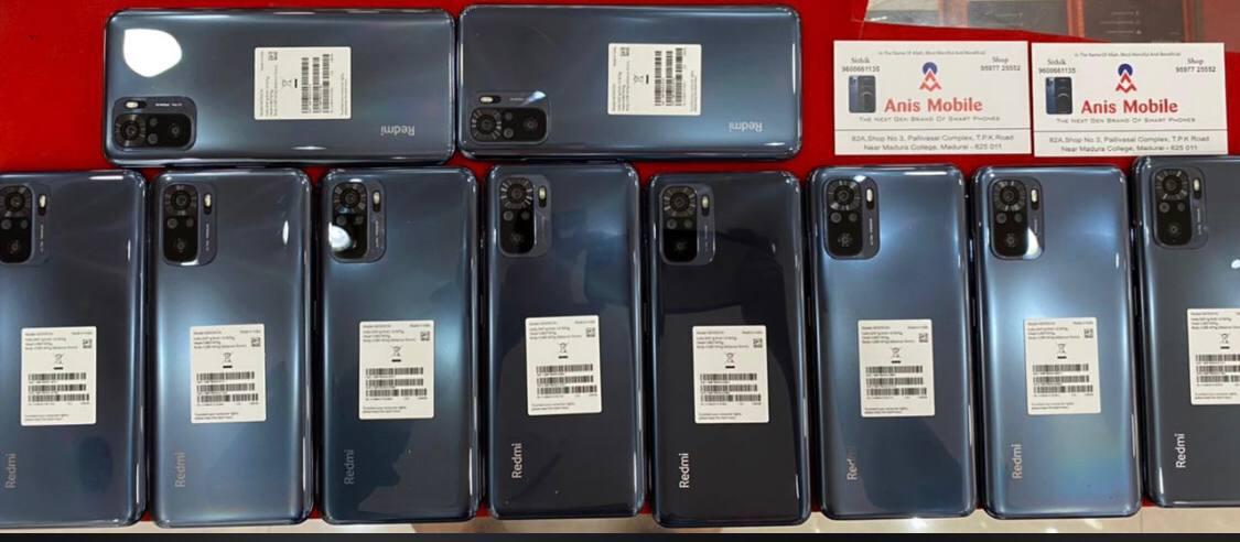Redmi Note 10 di pasar ponsel India.