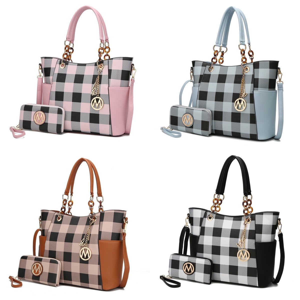 ad: 85% off   MKF Collection Bonita Checker Tote Bag & Wallet Set   https://t.co/2qbKcFApRd https://t.co/2qbKcFApRd