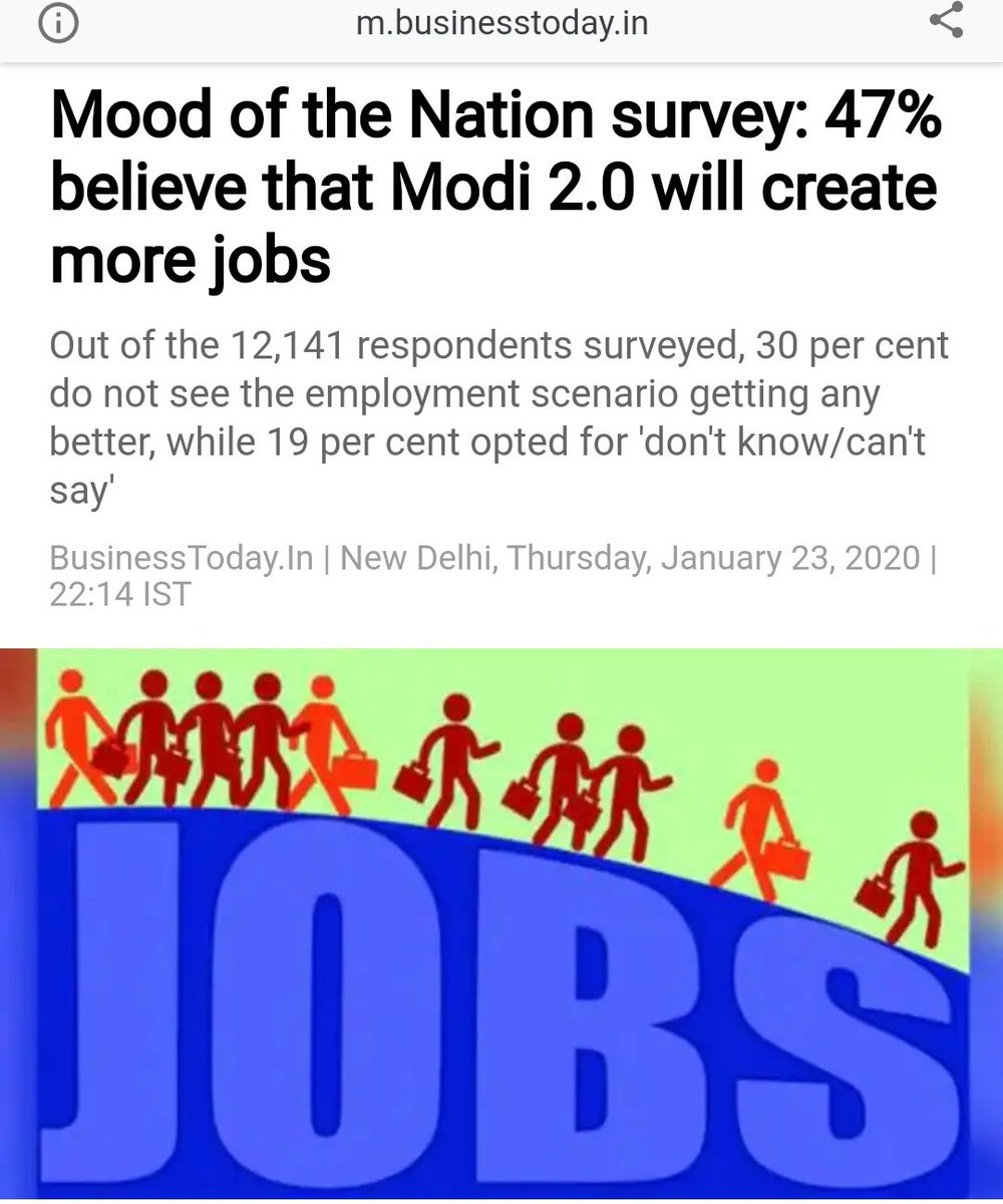 Is @IndiaToday tracking on #modi_job_do and rest of top trends today for what is the actual #MoodOfTheNation ?