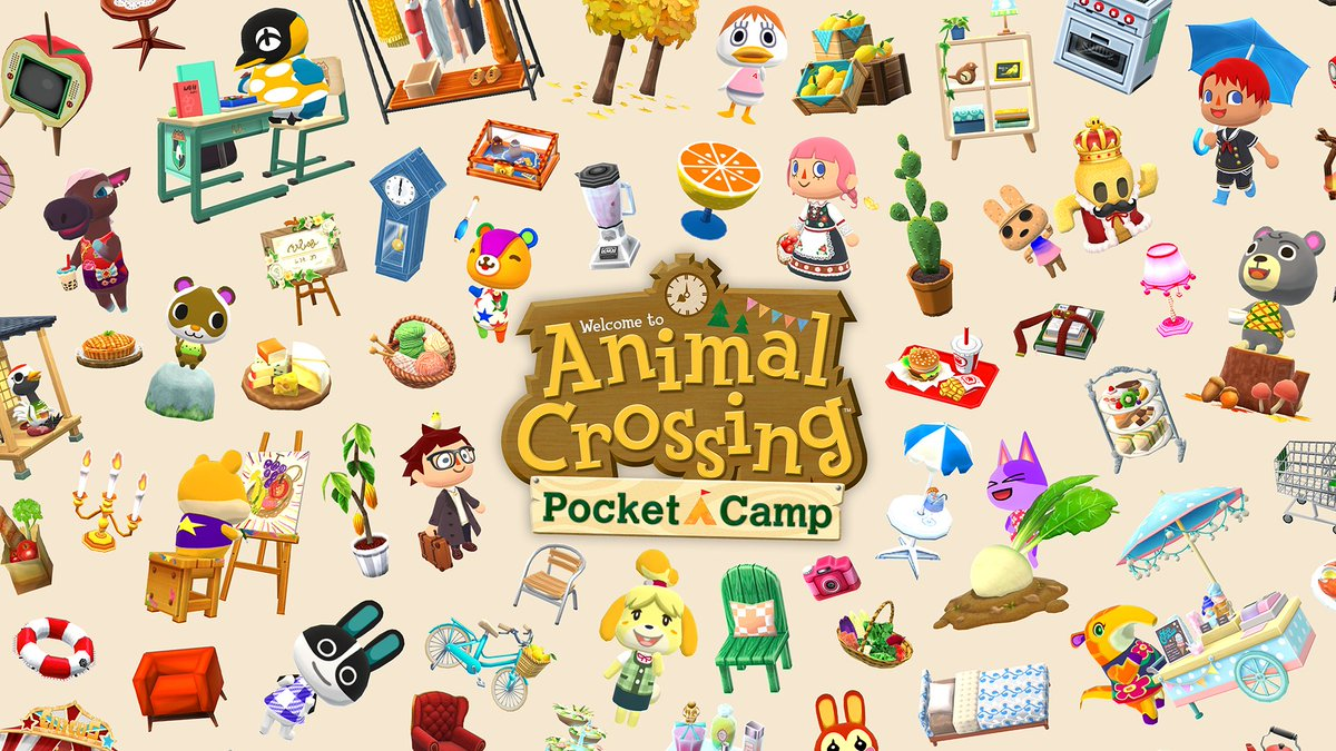 Replying to @PerfectlyNin: Animal Crossing: Pocket Camp - New Content and Updates (February 25th)