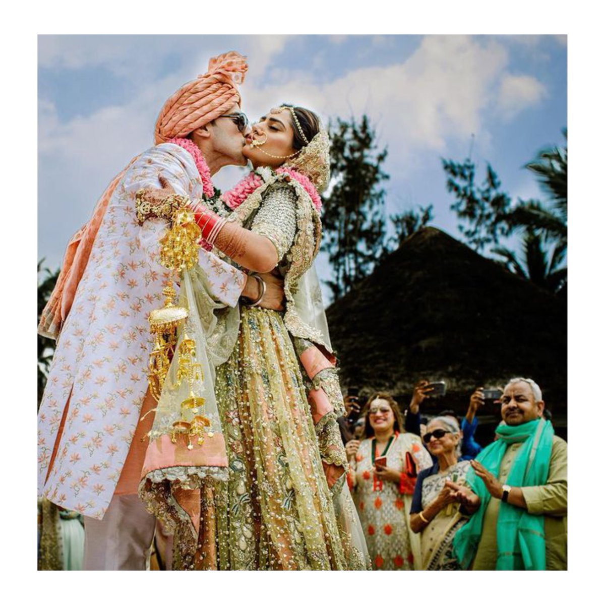 Seal with the deal with the kiss of life on your splendorous wedding day, surrounded by family and friends, at @theleelaravizkovalam at best deals & rates.  Call +91.88502.52867 to know more or DM us. 100% refund of booking amount in case of cancellation. *  #wedding #bride #love