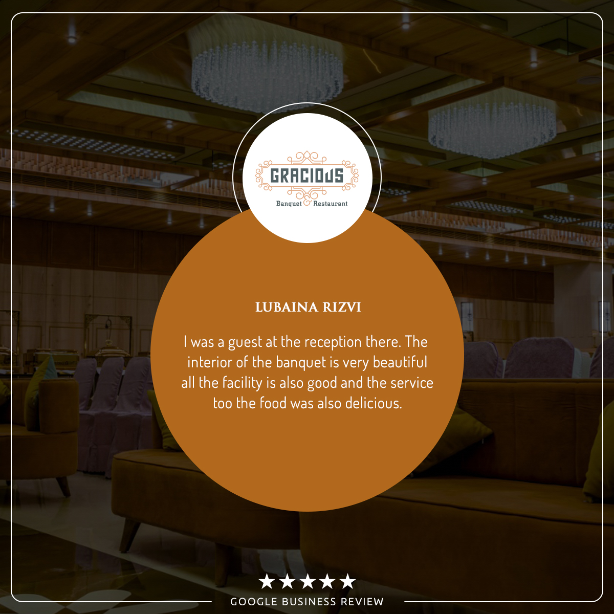 Google Business Review  #Gracious #Banquet #Restaurant #Ahmedabad #food #events #conference #appetizer #mocktail #punjabi #chinese #mexican #thai #italian #continental #seminarhalls #ringceremony #reception #babyshower #wedding #anniversary #kids #birthday #party #paneer #review