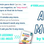 Image for the Tweet beginning: Lección nº 28 🧐: any