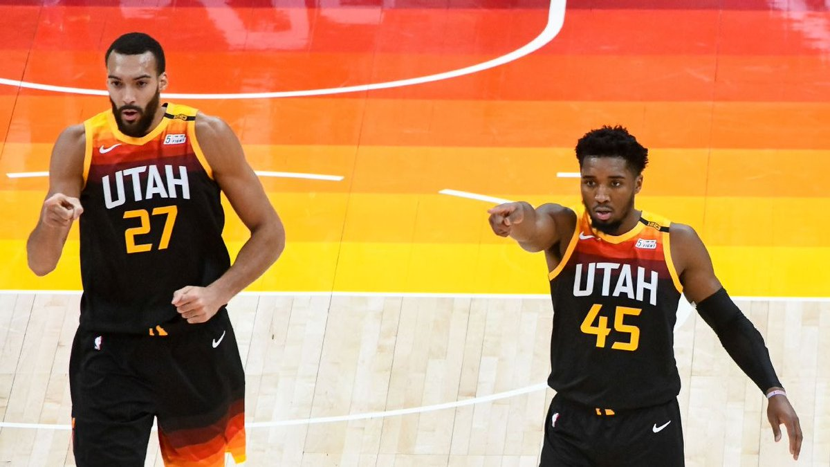 The Utah Jazz closes off their toughest 9 game stretch of the season with an 8-1 record:  Indiana W Boston W Milwaukee W Miami W Philadelphia W Clips W Clips L Charlotte W Lakers W  7 of their 8 wins were by double digits, 6 of these without Conley as well.  #TakeNote  #OTnba