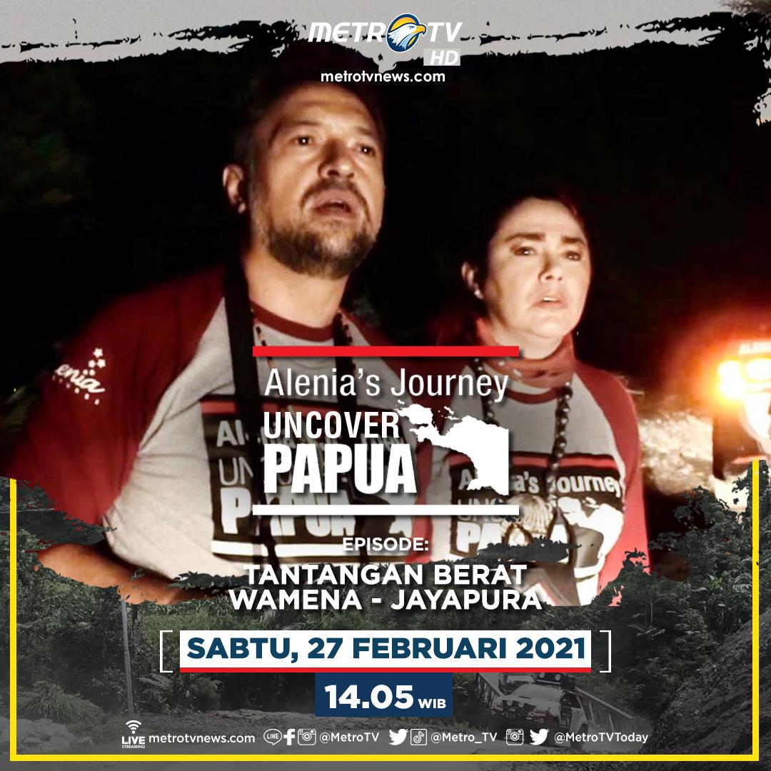 Tantangan berat yang dihadapi tim #AleniasJourneyUncoverPapua kali ini di jalur Trans Papua Wamena - Jayapura sungguh luar biasa. Apa tantangan yang mereka hadapi? Saksikan Alenia's Journey Uncover Papua 3, Sabtu (27/2) pukul 14.05 WIB atau 16.05 WIT hanya di #MetroTV.