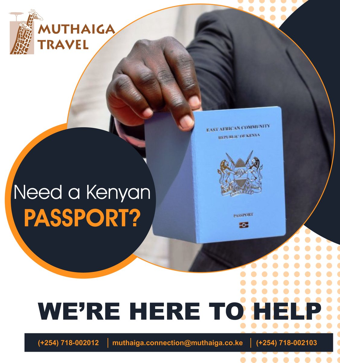 HAVE YOU APPLIED FOR YOUR E-PASSPORT?  E-Passport Application deadline was extended to 31 December 2021   Contact us for PASSPORT APPLICATION ASSISTANCE  ☎️ +254718002012 ☎️ +211922754601 📩 info@muthaiga.co.ke  #travel #ThursdayThoughts #trips #amazing
