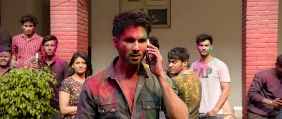 Happy birthday Shahid Kapoor. This is all of us when someone touches the food that we ordered.