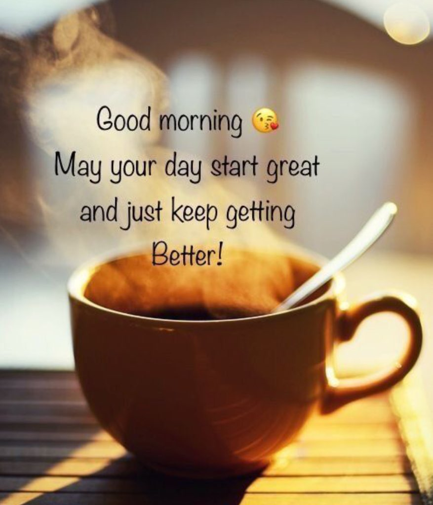 ☕️☕️☕️  #Goodmorning  Wishing you a day filled with love, laughter and blessings.  #coffee helps  @Cbp8Cindy @QueenBeanCoffee @suziday123 @LoveCoffeeHour @FreshRoasters @Stefeenew   #thursdayvibes #thursdaymorning #ThursdayFeeling #CoffeeLover #coffeetime #coffeeaddict
