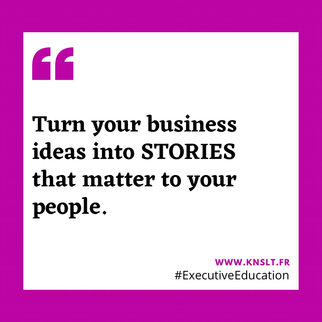 """Storytelling is the most powerful way to put ideas into the world today.""   #KNSLT #ExedParis #ExecutiveEducation #designthinking #management  #entrepreneurship #leadership #businessplan #intrapreneur #entrepreneur #innovation #disruption #marketingstrategy #news #quoteoftheday"
