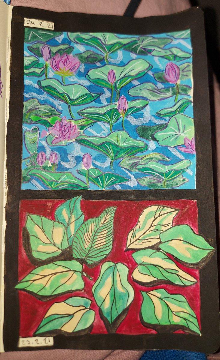 #gouache #gouachepainting #plants #redpanda #animals #traditionalart #art #sketch #drawing #art