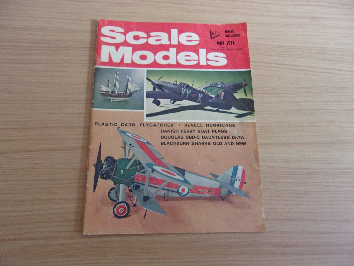 Scale Models May 1971 Magazine Vintage, £1.50, what a bargain!  #ebay #uk #magazine #vintage