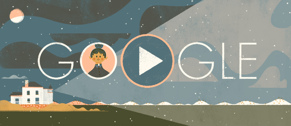 """A #ThrowbackDoodle for fearless American lighthouse keeper Ida Lewis 💡🏠 A true beacon of inspiration, Lewis was a lifesaver who was once declared """"America's Bravest Woman"""" 🇺🇸  Find out how she earned her prestigious title with this 2017 #GoogleDoodle →"""