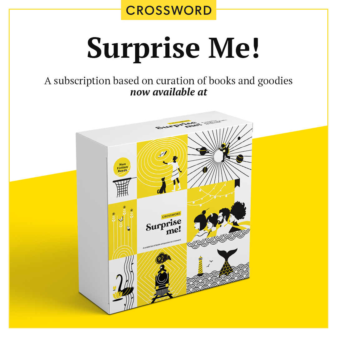 Our Surprise Me! Subscription box is here! Crossword Surprise Me! is a specially curated box of books, goodies and exciting merchandise. To know more visit- https://t.co/DDe3ijaswp or call on 1800 3000 1203.  #CrosswordSurpriseMe https://t.co/1srel39Sh4
