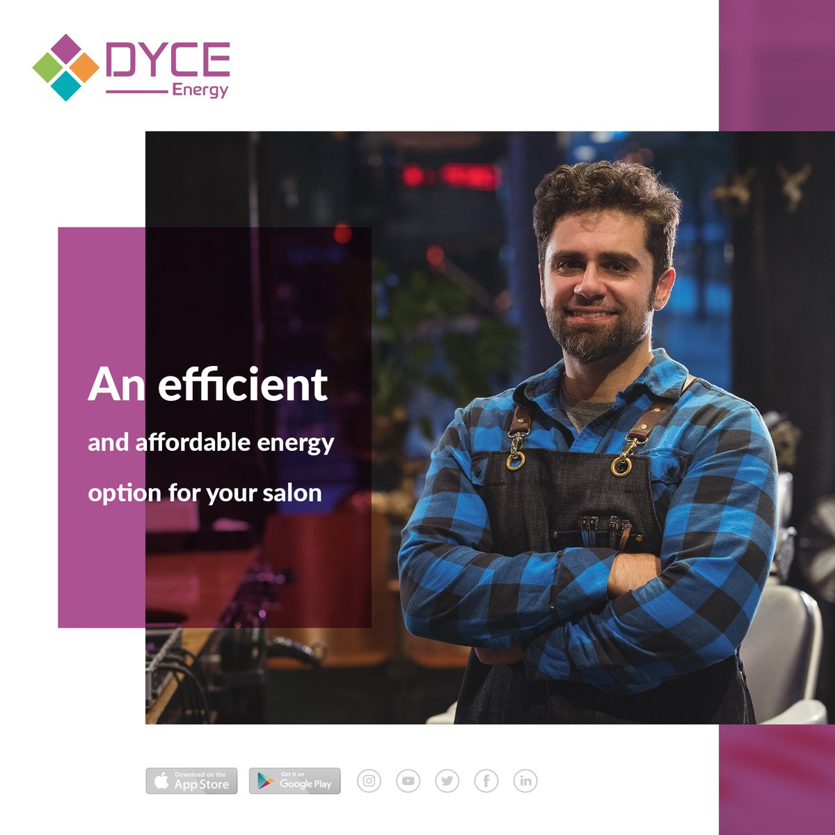 An efficient and affordable energy option for your salon  GET A QUOTE ▶  ✆ 01709 357315 ✉ enquire@dyce-energy.co.uk  #saveenergy #saveenergysavemoney #energyEfficient #EnergyEfficiency #EnergySaving #Givingyourbusinessenergy #uk #unitedkindgom