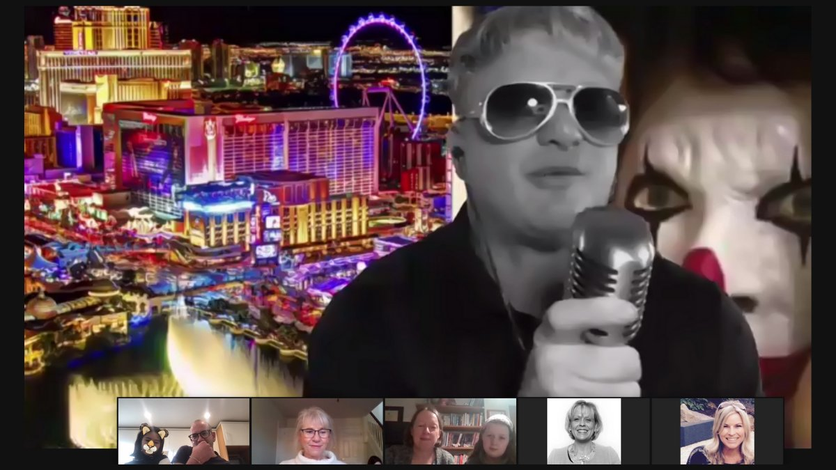 #WhatHappensInVegas 😎 Another inside look at the #UK #birthday celebration with @ScottBlugrind. Can someone fill us in on what's happening here?? 😏  #teamtalend #vegas #birthdays #party #team