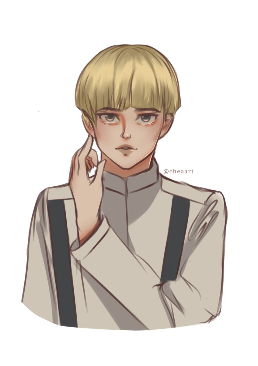 tall, blonde, and gorgeous.   #Yelena #ShingekiNoKyojin #snk #aot #artph