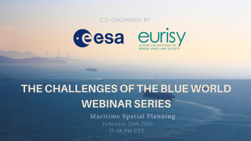 Today at 17:00 CET @ESA & @Eurisy1 will be talking about how space can support maritime spatial planning, esp. coastal protection, #RenewableEnergy & port development 🛰️🚢  Join for free 👉  #Maritime #MaritimeSector #MaritimeIndustry #Shipping #BlueEconomy