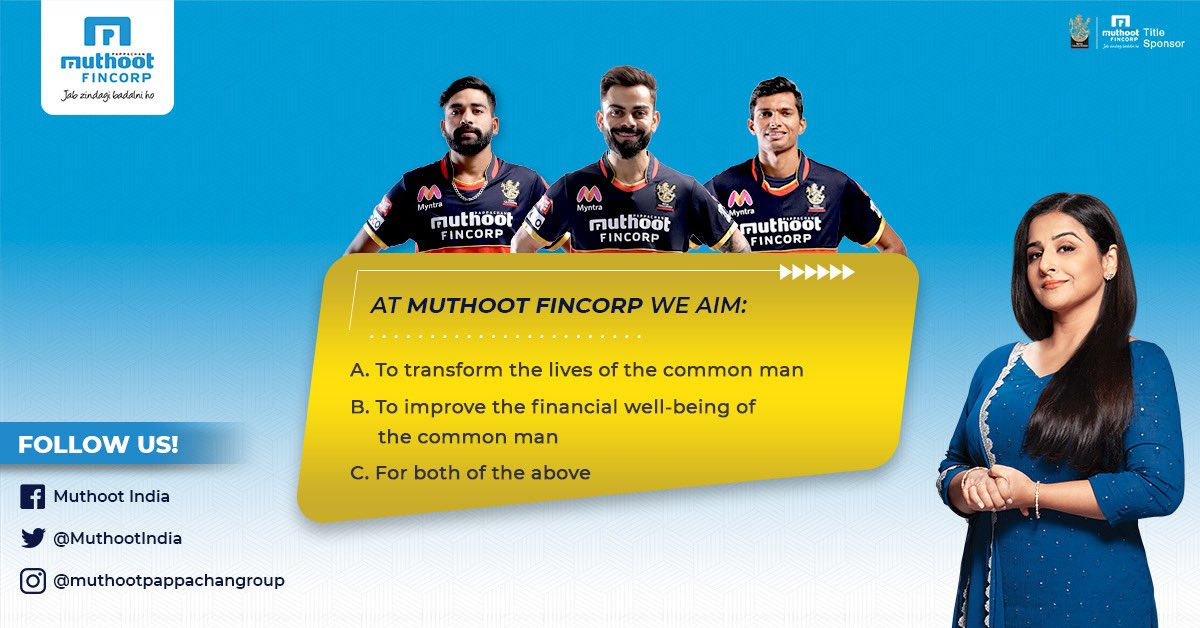 Who knows the correct answer to this one? Tell us in the comments below. Those who get it right will be featured in our stories on Instagram and Facebook!  #MuthootFinCorp #RestartIndia #MuthootBlue #MSMEsOfIndia #HomeLoan #ApnaGhar #AatmaNirbharIndia #Loan #Participate