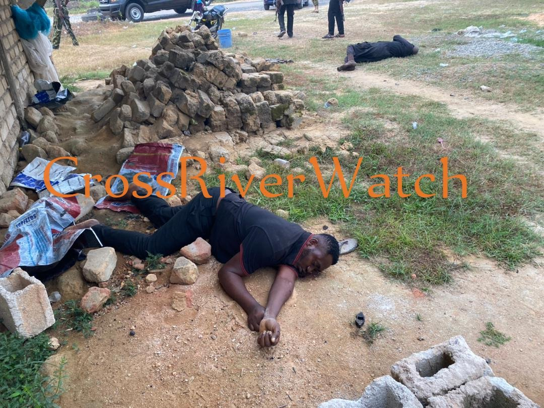 All four policemen whobwentnto burst a kidnappers hideout in Calabar were killed by the kidnappers. @PoliceNG @SaharaReporters