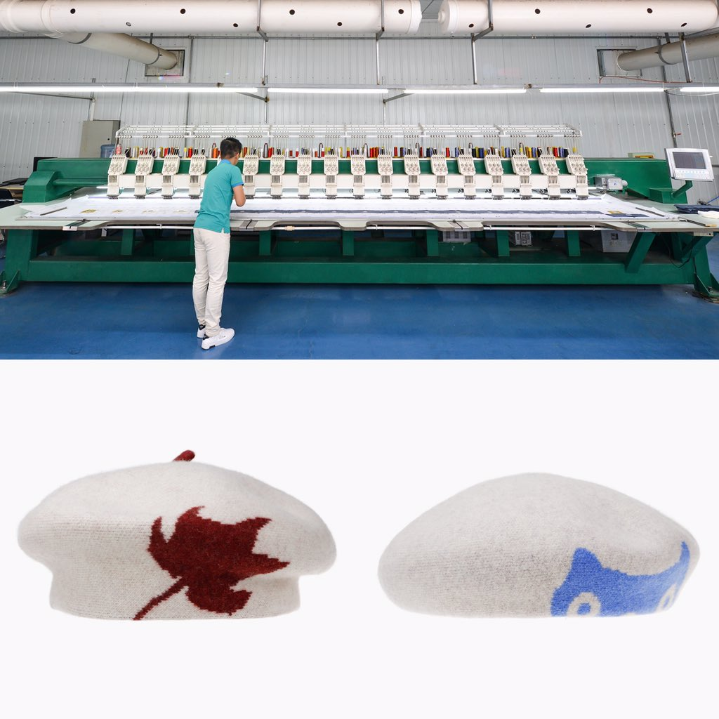 The elegant beret hats made of 100% Australia wool. And we equip with professional machine, offer high quality hat. #hat #wool #beret #millinery
