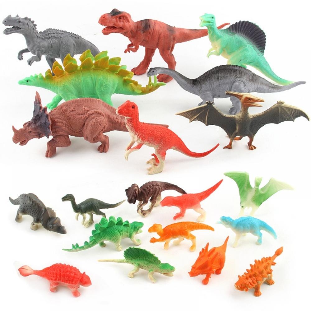 #igers #tagsforlikes Mini Dinosaur Action Figures (12 pcs set)