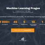 Image for the Tweet beginning: MACHINE LEARNING | Tomorrow we