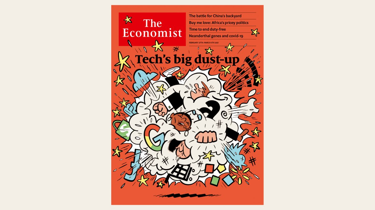 A new phase in global tech competition is under way. Big tech's big dust-up could bring big changes to the digital economy. Our cover this week