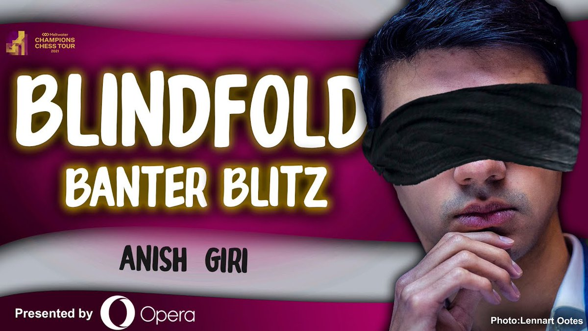 test Twitter Media - Next up at 15:00 CET, @anishgiri takes on premium members at BLINDFOLD banter blitz!  Presented by @opera: https://t.co/qDMYSMJPTK https://t.co/nN5Sne7iGN