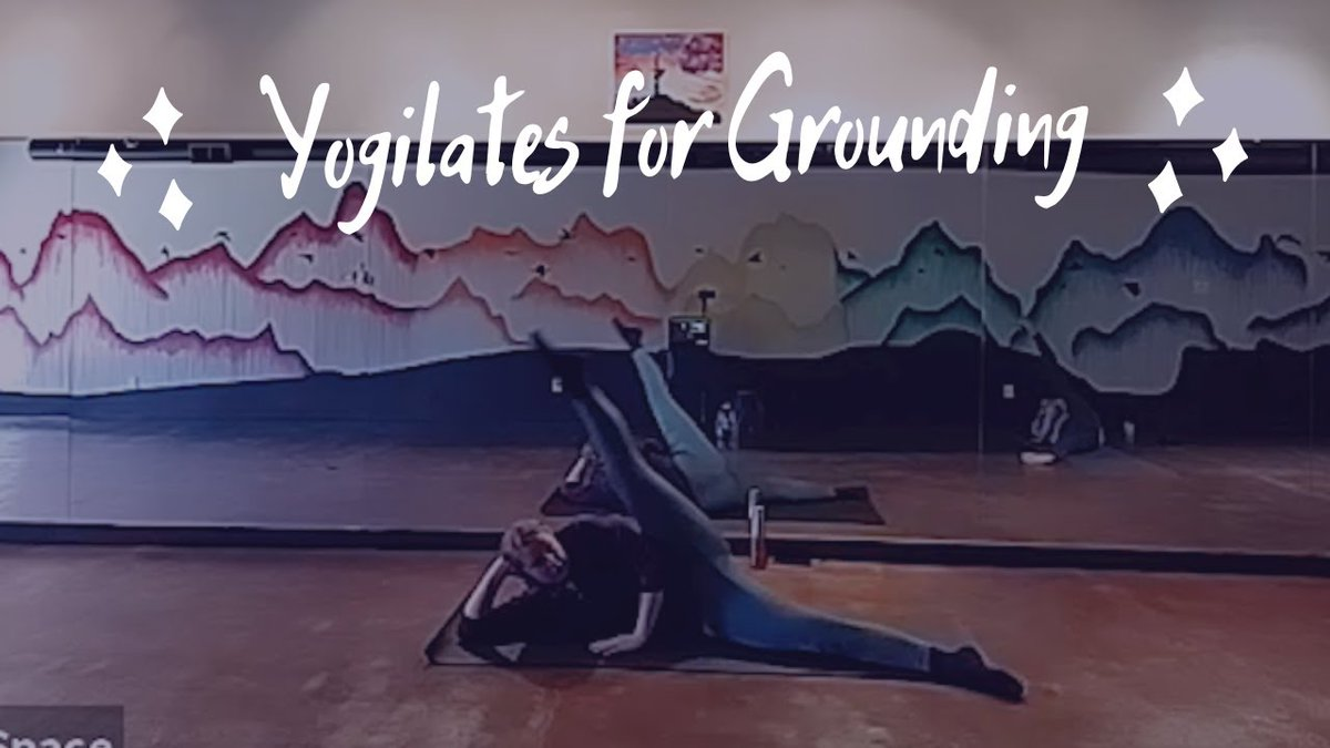 In this Yogilates class, we connect down to strengthen upward. We recognize that we wouldn't be strong if we didn't have to constantly work against the gravity pulling us down.     #yogaartspace #yogilates #piyo #yogalates #youtubeyoga #abqyoga #nmyoga #fit
