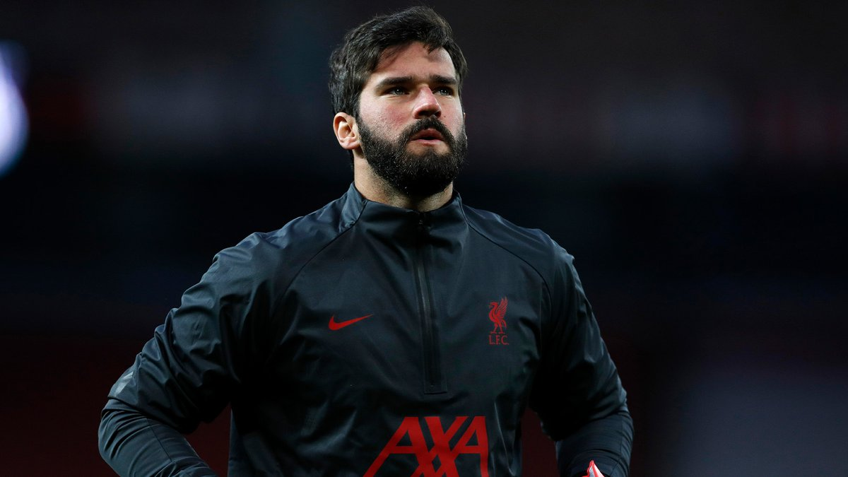Replying to @LFC: You'll Never Walk Alone, @Alissonbecker ❤️
