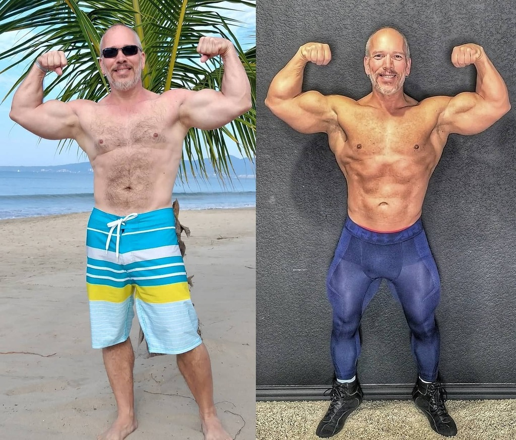 Throwback Thursday!  December 2018 to February 2021  #bodybuilding #fitatanyage #gymmotivation #gymrat #fitnessover50 #fitnessmotivation #gym #fitfam #naturalbodybuilding #fit_over_50 #fit #fitness #strength #healthy #fitnessjourney #gymmotivation #worko…
