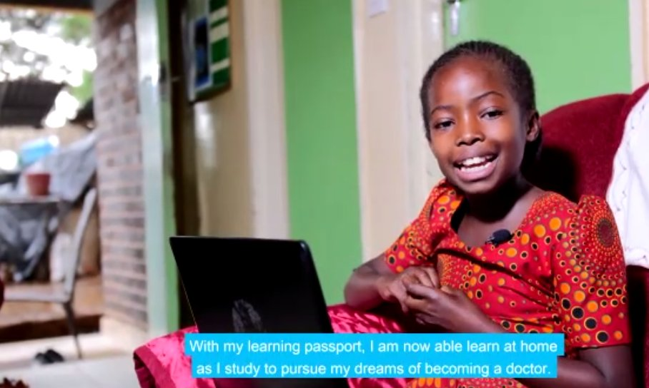 Bring together resources to empower children #girls & young people to provide them with the skills needed to thrive. The @UNICEF dream of giving them with opportunity to learn in partnership with @Microsoft: launch of the 'Learning Passport' in Zimbabwe. Much respect @edmnangagwa