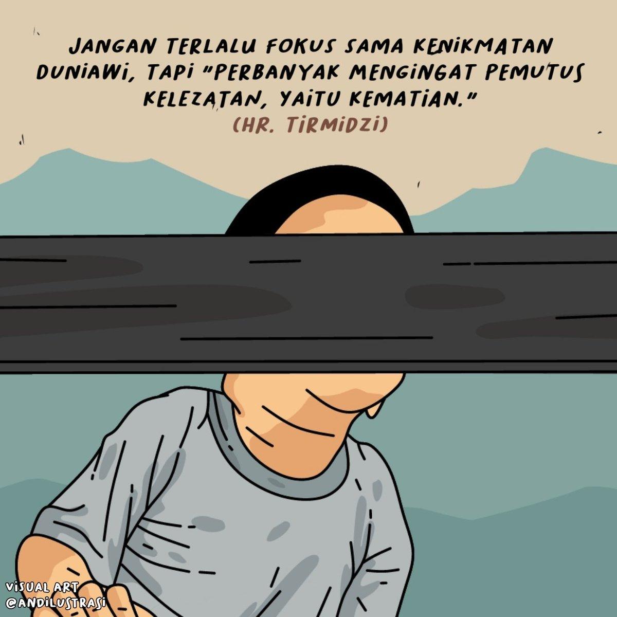 🥀 . . . #andilustrasi #illustration #seniman #art #masakecil #generasi90an #gambarkartun #karyavisual #kartunmuslimah #masakecilbahagia #selalubersyukur #vectorart #ilustrasikartun #ilustrasi #kartundakwah #quoteindonesia #quoteindo #senimankata #senimanindonesia