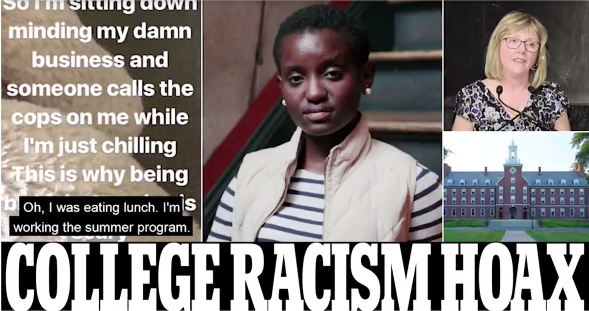 Student was not the victim of racism for 'eating while black' at $80k Smith College and MADE UP details