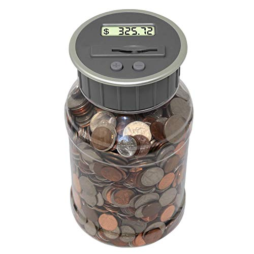 2 Teacher's Choice Coin Bank Savings Jar