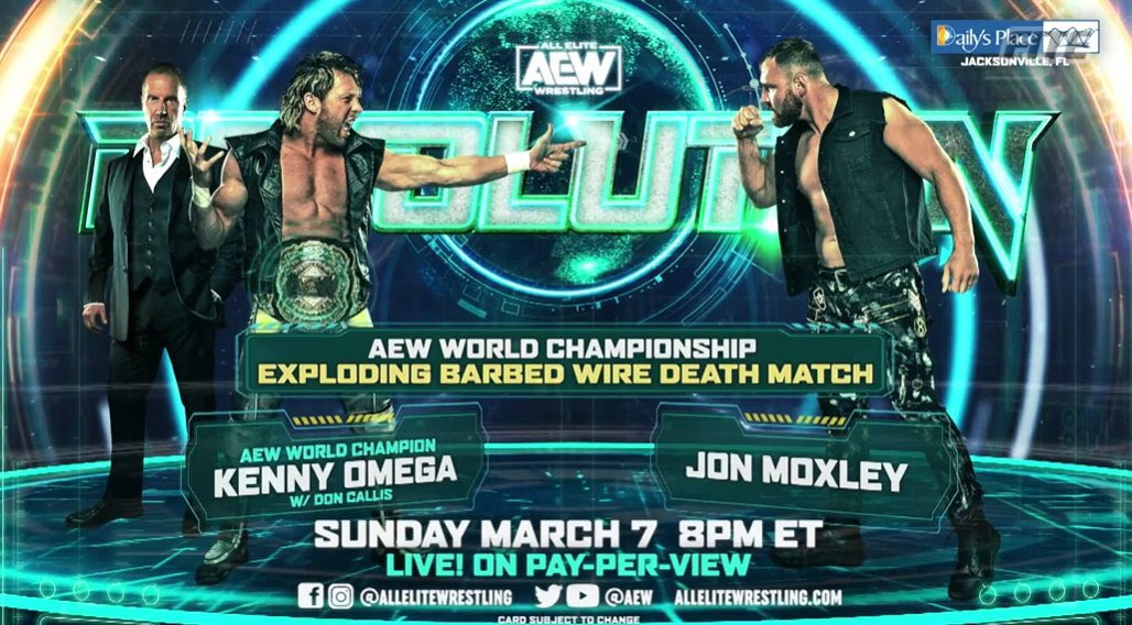 🚨 COMPETITION 🚨  Want to watch #AEWRevolution on March 7th for free?  - Follow @WrestlingGary - Follow @FiteTV - Follow @Inside_TheRopes - 🖤 & RT this tweet - Tell me your favourite @AEW star! 👇🏻  *Excludes US*
