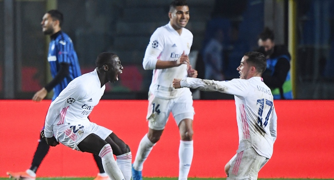 The Spanish giant Real Madrid, who was the guest of the Italian team Atalanta in the first match of the last 16 rounds of the UEFA Champions League, left the field 1-0 and gained the advantage for the rematch.  #america #Canada #football #News #RealMadri