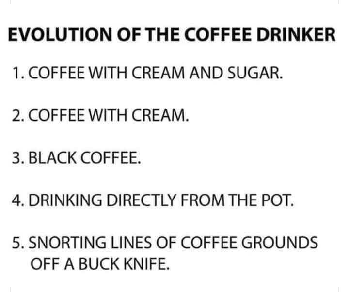 Good morning Coffee Club, I'm at 4 ☕ @TraceyPalmBeach @lmakowski3 @NatashaDidonato @socdoctormali @zelda229 @adavaco @pranster @FritsV4 @Texy_Liz @es_edwards @ChrisEspinosa59 @RScottTipton @allanjohnsonmn1 @alliesavvy @es_edwards @Peatches66 @kristinresistin @ger_Kreuz