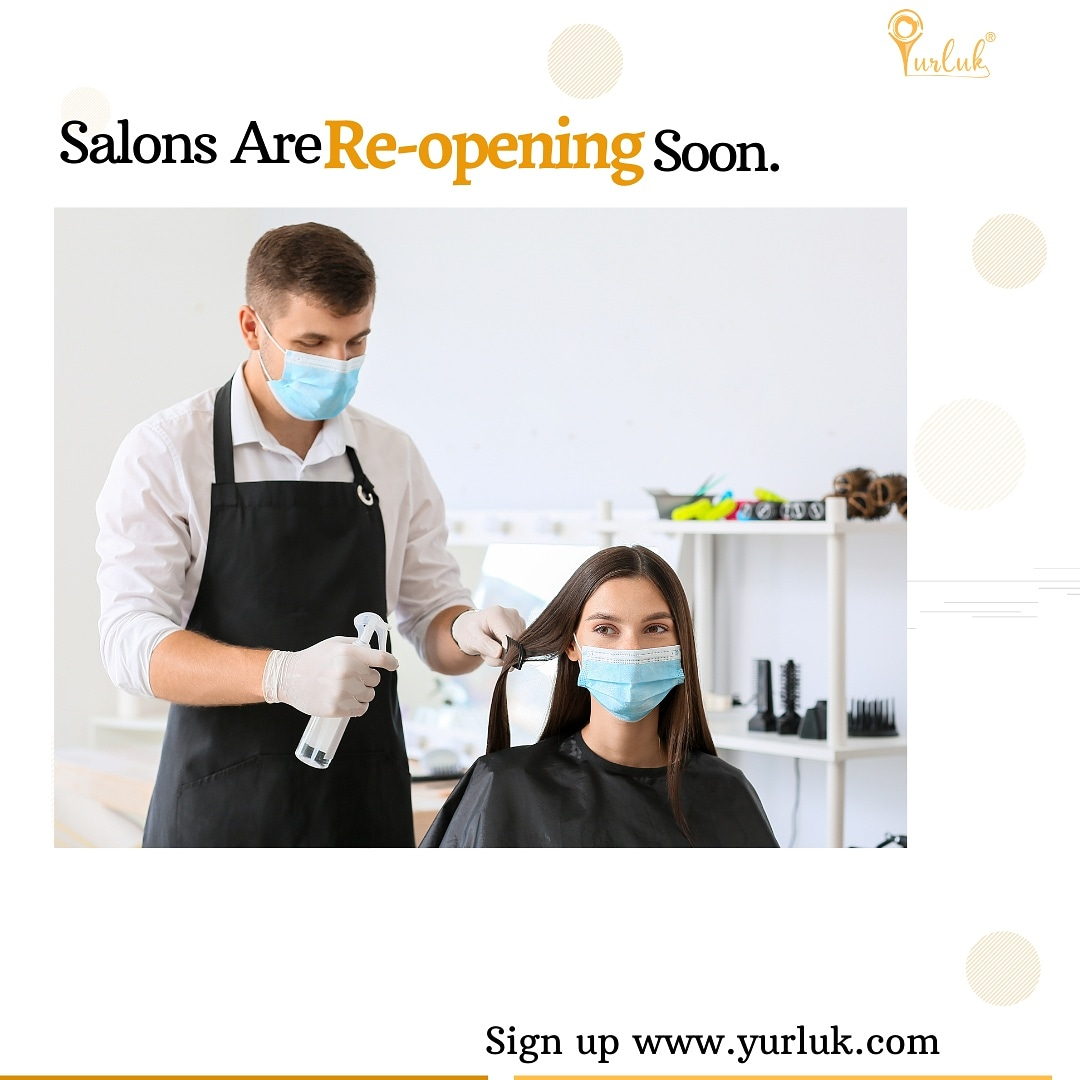 Yay! Salons are opening in April 📢. Proposed Date: 12th of April.  You can pre-book on  #thursdaymorning #thursdayvibes #yurlukuk
