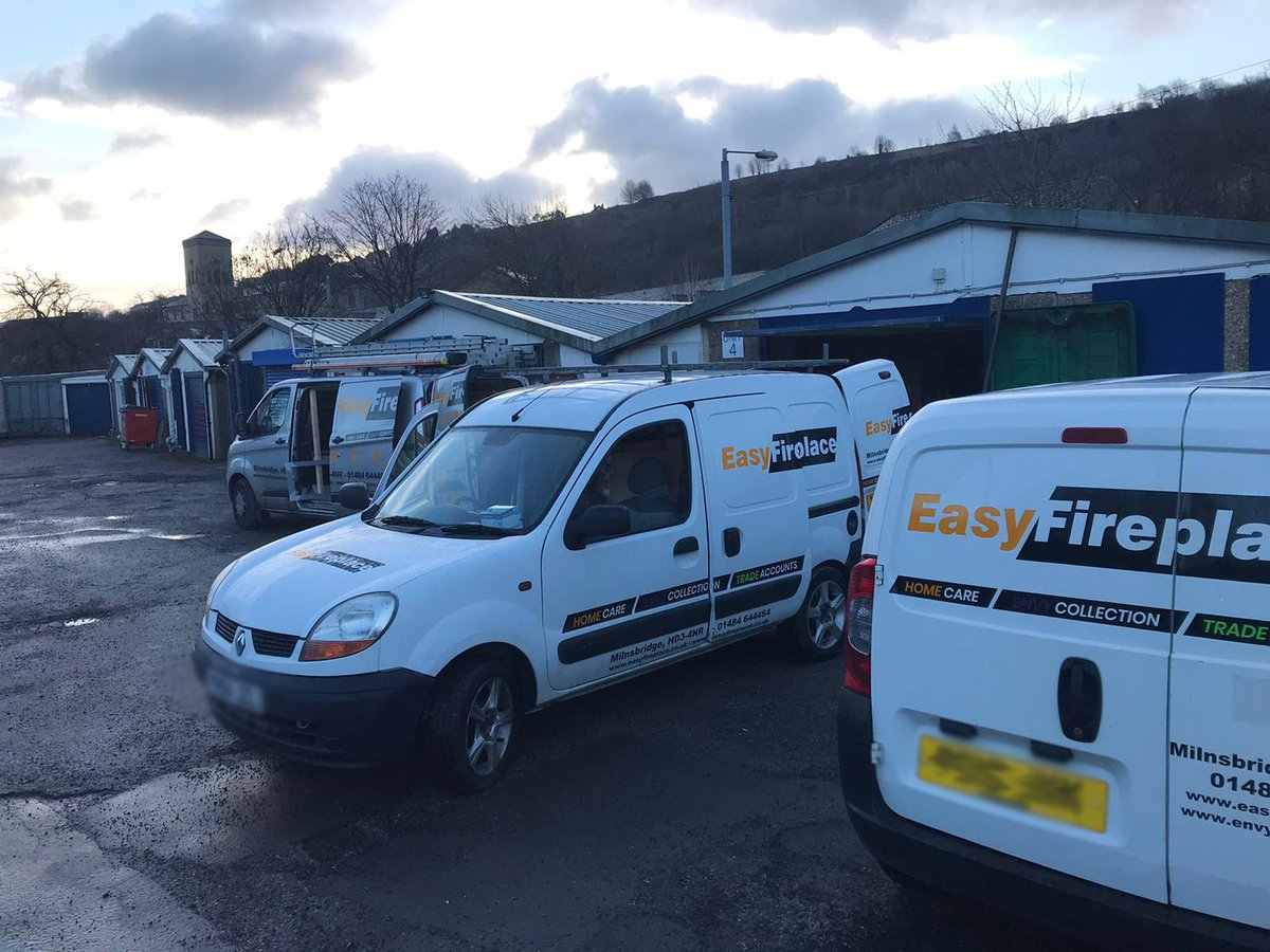 It's a busy day today for our Showroom, All three of our vans are out on In-House Installations with our Professional Team of Fully Trained Engineers.  For more information, please contact us at: Showroom@easyfireplace.co.uk  #StaySafe #TogetherStronger #GiveBack #MakeLifeEasy
