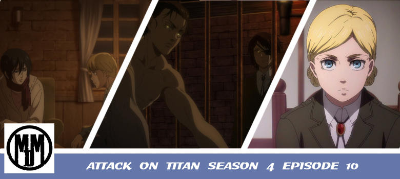 The more things change, the more they stay the same.  #AttackOnTitan Season 4 Episode 10 was a fun piece of storytelling. Find out why in #anime review:    #aniblogger #anitwt #anitwitter #ShingekiNoKyojin #AttackOnTitanFinalSeason #otaku