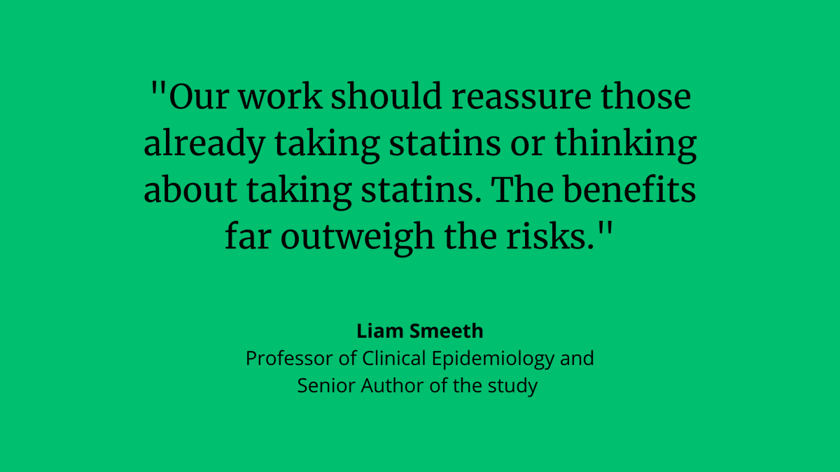 #Statins have no overall effect on muscle pain finds individual randomised, placebo controlled trial. Important as many patients stop taking statins due to less severe symptoms exposing them to increased #CVD risk. 👉 bit.ly/2MrYV6u @bmj_latest @NIHRresearch