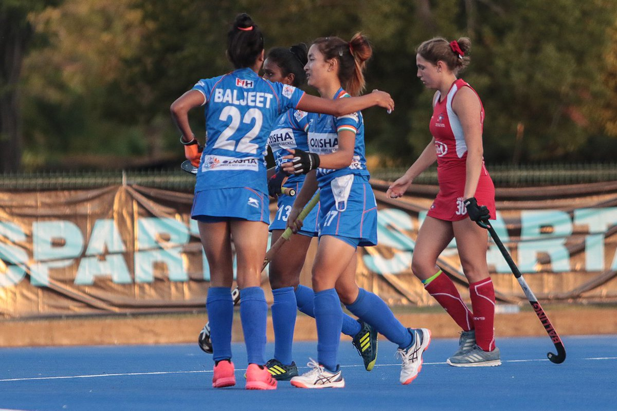 I'm inspired by #Lalremsiami to break into the Indian Senior women's squad - Lalrindiki #Hockey #sports #vannewsagency