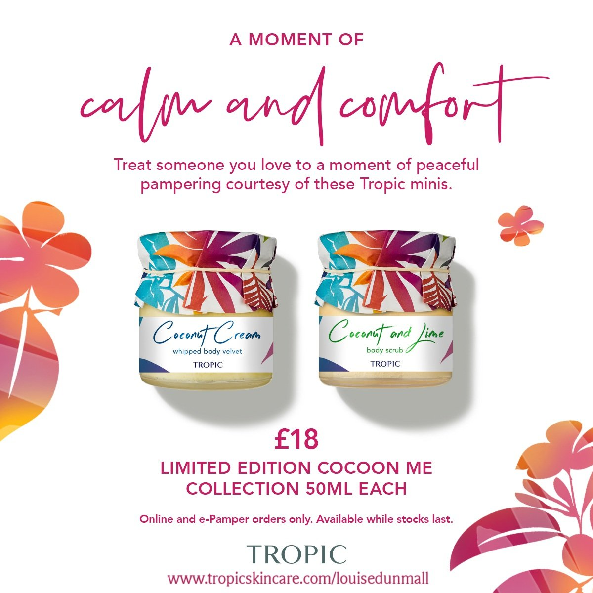 Fancy treating mum or the amazing women in your life to something special this Mother's Day? Look no further than Tropic's limited edition collections and products! From best-selling minis to carefully created collections.  #LoveTropic #MothersDay